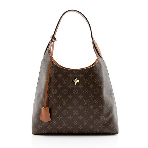Louis Vuitton Monogram Canvas Flower Hobo