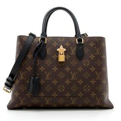 Louis Vuitton Monogram Canvas Flower Tote