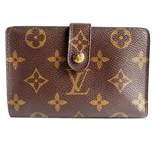 Louis Vuitton Monogram Canvas French Wallet