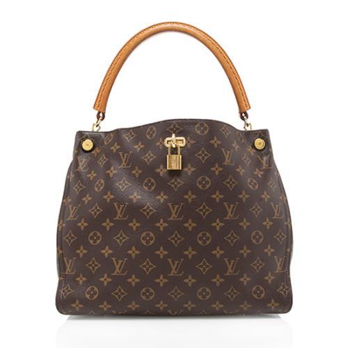 Louis Vuitton Monogram Canvas Gaia Shoulder Bag