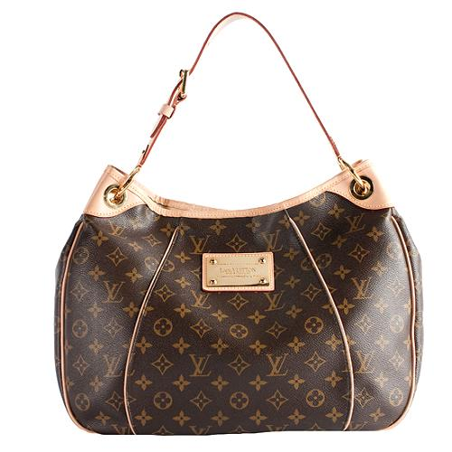 9c492da9363 Louis Vuitton Monogram Canvas Galliera PM Shoulder Handbag
