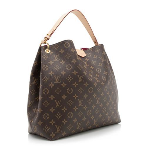 cf390de21a2f Louis Vuitton Monogram Canvas Graceful MM Shoulder Bag