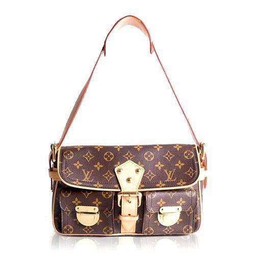 Louis Vuitton Monogram Canvas Hudson PM Shoulder Handbag