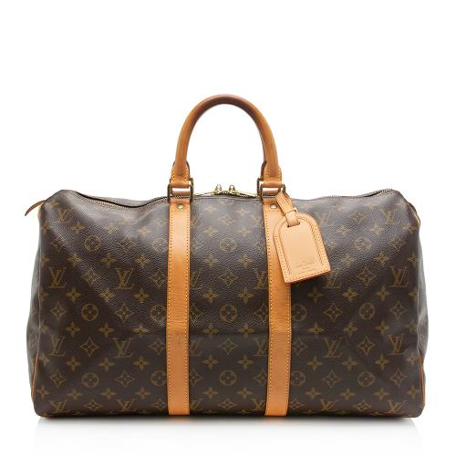 Louis Vuitton Monogram Canvas Keepall 45 Duffel Bag