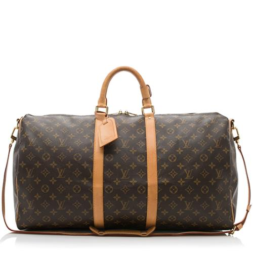 b777eed85cd2 Louis-Vuitton-Monogram-Canvas-Keepall-Bandouliere-55 -Duffel-Bag 85712 front large 0.jpg