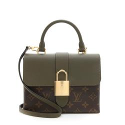 Louis Vuitton Monogram Canvas Locky BB Satchel