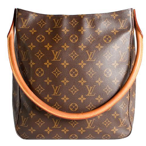 Louis Vuitton Monogram Canvas Looping GM Shoulder Handbag