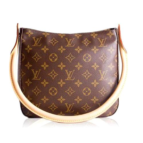Louis Vuitton Monogram Canvas Looping MM Handbag