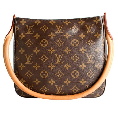 Louis Vuitton Monogram Canvas Looping MM Shoulder Handbag