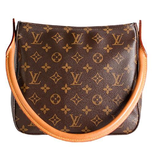 Louis Vuitton Monogram Canvas Looping MM Shoulder Handbag