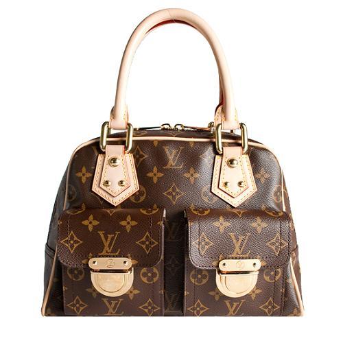 Louis Vuitton Monogram Canvas Manhattan PM Handbag