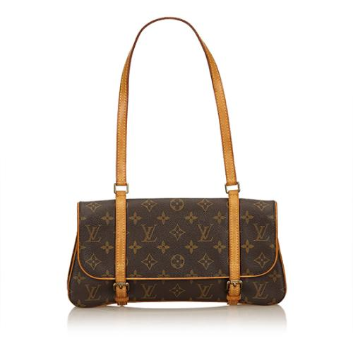 Louis Vuitton Monogram Canvas Marelle MM Shoulder Bag