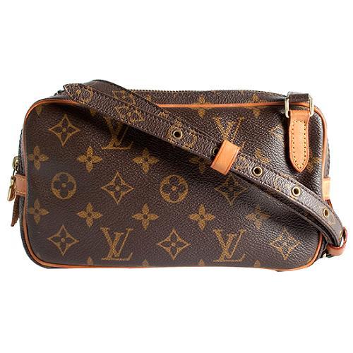 Louis Vuitton Monogram Canvas Marly Bandouliere Pochette Shoulder Handbag