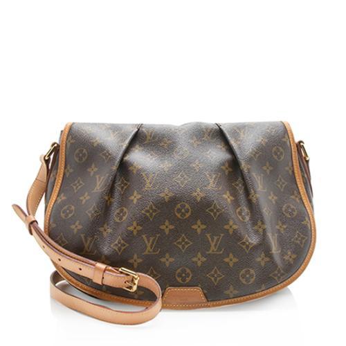 Louis Vuitton Monogram Canvas Menilmontant MM Messenger Bag