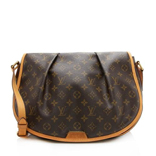Louis Vuitton Monogram Canvas Menilmontant MM Messenger Bag