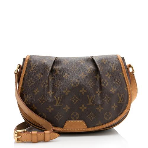 16ae936323cb Louis Vuitton Monogram Canvas Menilmontant PM Messenger Bag