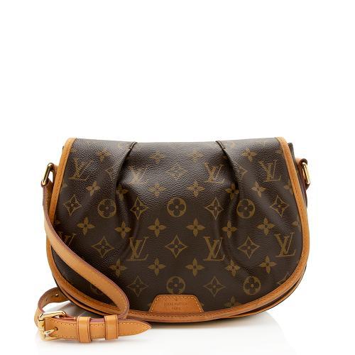 Louis Vuitton Monogram Canvas Menilmontant PM Shoulder Bag - FINAL SALE
