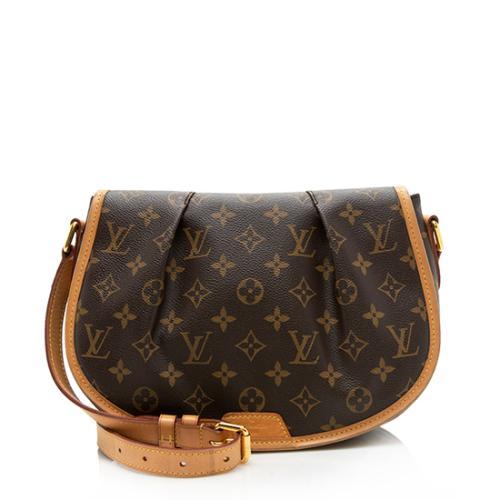 Louis Vuitton Monogram Canvas Menilmontant PM Shoulder Bag
