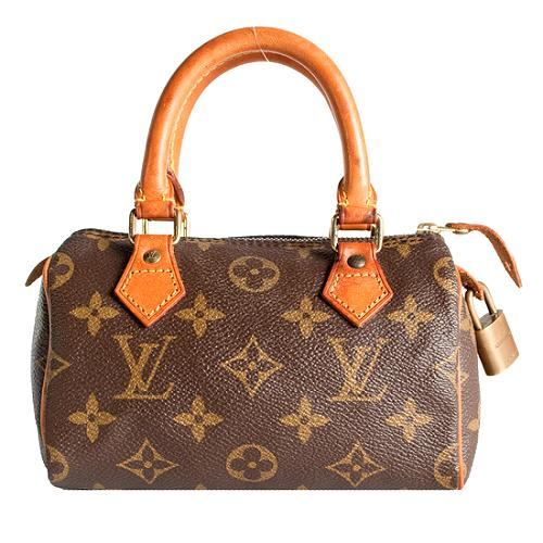 Louis Vuitton Monogram Canvas Mini HL Satchel Handbag - FINAL SALE