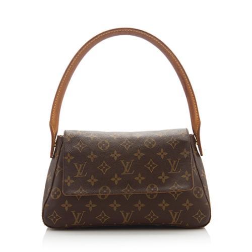 Louis Vuitton Monogram Canvas Mini Looping Shoulder Bag - FINAL SALE
