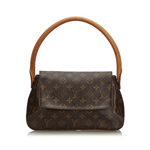 Louis Vuitton Monogram Canvas Mini Looping Shoulder Bag