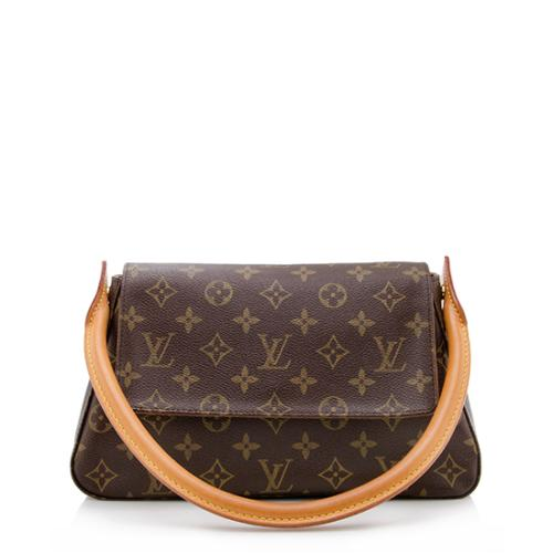 28575818630a Louis-Vuitton-Monogram-Canvas-Mini-Looping-Shoulder -Bag 74646 front large 0.jpg