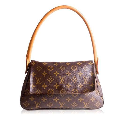 Louis Vuitton Monogram Canvas Mini Looping Shoulder Handbag