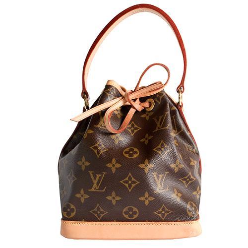 Louis Vuitton Monogram Canvas Mini Noe Shoulder Handbag