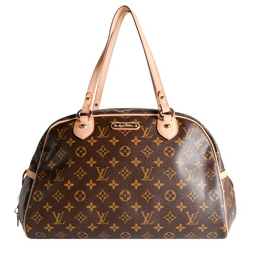 Louis Vuitton Monogram Canvas Montorgueil GM Satchel Handbag