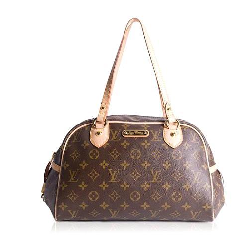 Louis Vuitton Monogram Canvas Montorgueil PM Satchel Handbag