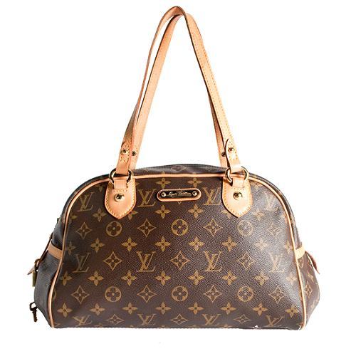 Louis Vuitton Monogram Canvas Montorgueil PM Shoulder Handbag