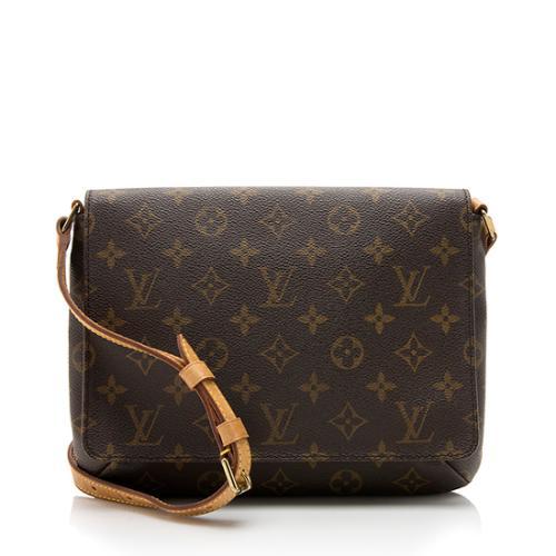 927950ab978a Louis Vuitton Monogram Canvas Musette Tango Shoulder Bag