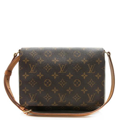 Louis Vuitton Vintage Monogram Canvas Musette Tango Shoulder Bag