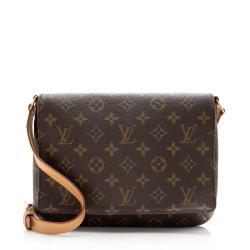 Louis Vuitton Monogram Canvas Musette Tango Shoulder Bag