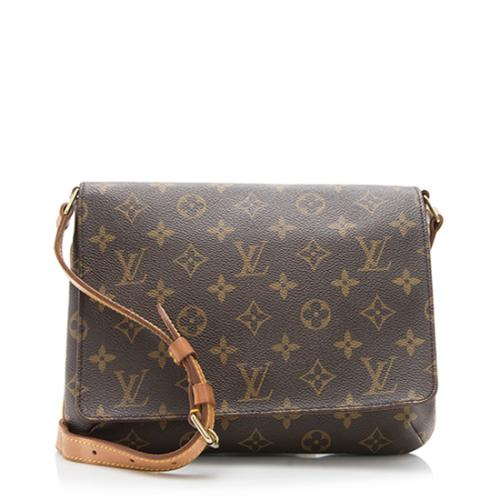 Louis Vuitton Monogram Canvas Musette Tango Shoulder Bag