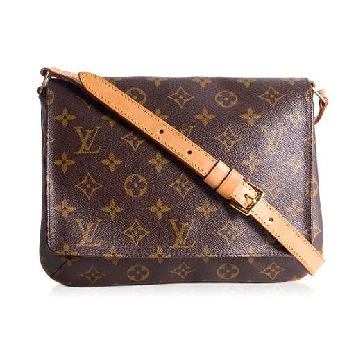 Louis Vuitton Monogram Canvas Musette Tango Shoulder Handbag