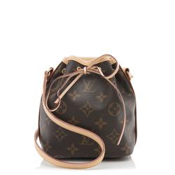 Louis Vuitton Monogram Canvas Nano Noe Shoulder Bag