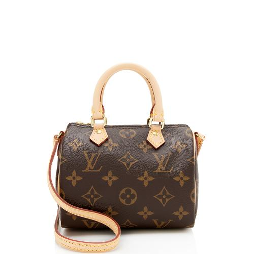 Louis Vuitton Monogram Canvas Nano Speedy Satchel