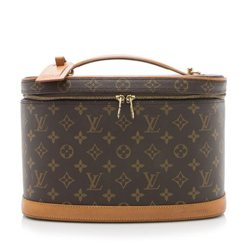 Louis Vuitton Vintage Monogram Canvas Nice Beauty Case - FINAL SALE