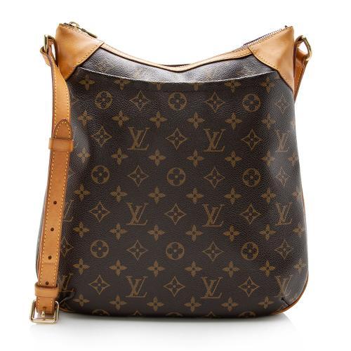 Louis Vuitton Monogram Canvas Odeon MM Shoulder Bag