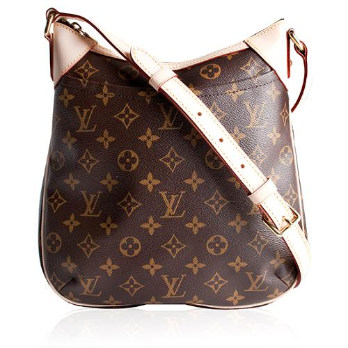 Louis Vuitton Monogram Canvas Odeon PM Shoulder Handbag