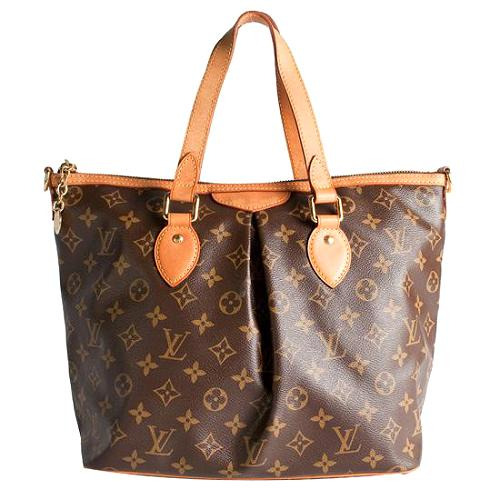 Louis Vuitton Monogram Canvas Palermo PM Handbag