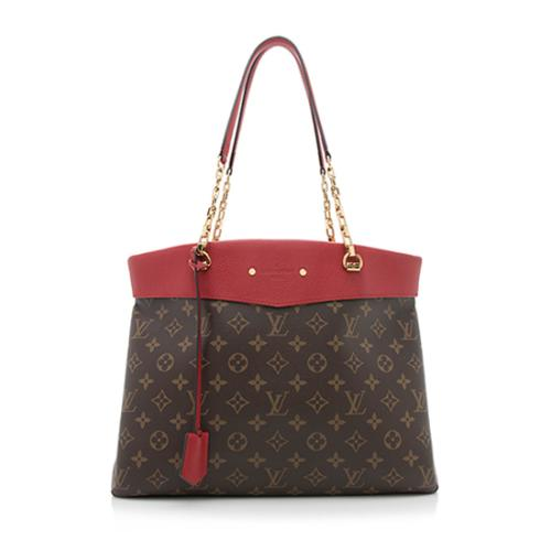 Louis Vuitton Monogram Canvas Pallas Shopper Tote