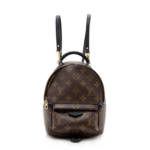 5dd9aea2a93e Louis Vuitton Monogram Canvas Palm Springs Mini Backpack - FINAL SALE