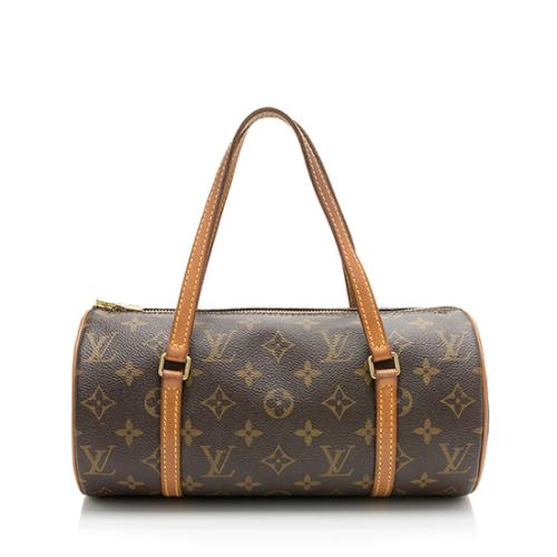 e43624e8b5bff7 Louis Vuitton Monogram Canvas Papillon 26 Satchel