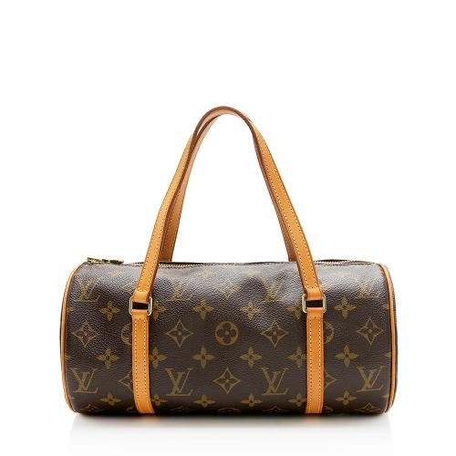 Louis Vuitton Monogram Canvas Papillon 26 Satchel