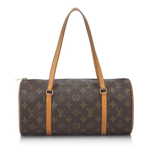 Louis Vuitton Monogram Canvas Papillon 30 Satchel