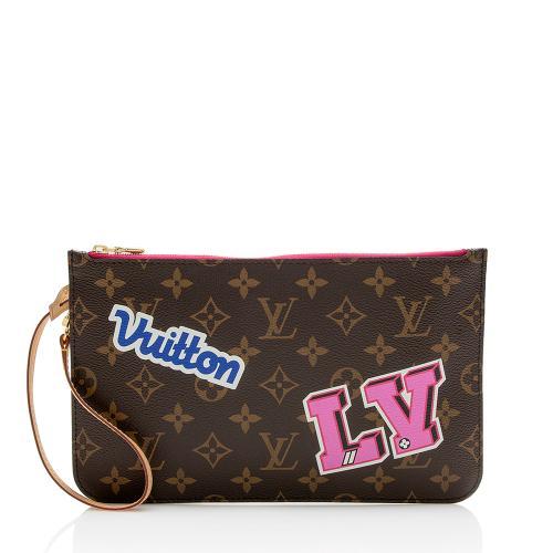 Louis Vuitton Monogram Canvas Patches Pochette