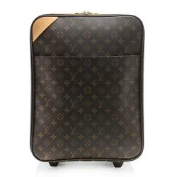 Louis Vuitton Monogram Canvas Pegase 45 Luggage