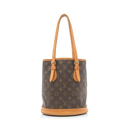 Louis Vuitton Monogram Canvas Petit Bucket Tote - FINAL SALE